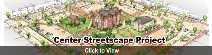 Click to read more about the Center Streetscape Project